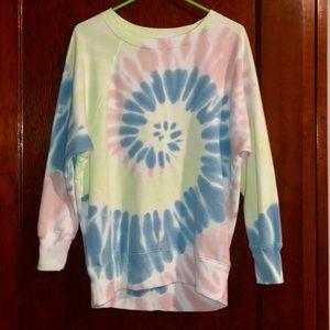 New! Tie dye slouchy sweatshirt 💕
